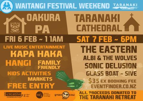 Waitangi Weekend Festival Concert