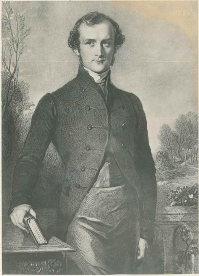 Bishop G.A. Selwyn around 1841